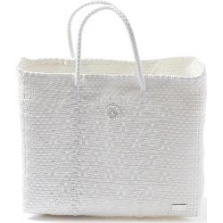 Lolas Bag - Small White Tote Bag