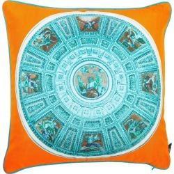 Bivain - Capella Chigi Blu Silk Cushion found on Bargain Bro UK from Wolf and Badger