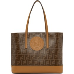 Fendi Brown Forever Fendi Tote found on Bargain Bro India from ssense asia-pacific for $1232.00
