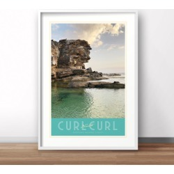 Curl Curl North Print