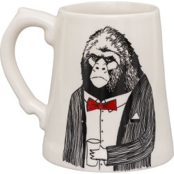 Jimbob Art - Mr Ape Beer Tankard found on Bargain Bro UK from Wolf and Badger