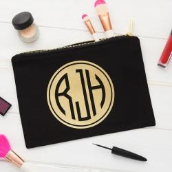 Personalised Monogram Make Up Bag