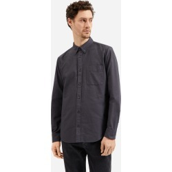 Men's Slim Fit Japanese Oxford | Uniform Shirt by Everlane in Slate, Size XXL
