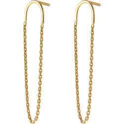 Irena Chmura Jewellery - Arc & Chain Earrings found on Bargain Bro UK from Wolf and Badger