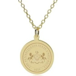 Penn State 14K Gold Pendant and Chain