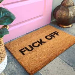 Naughty Doormat - Fuck Off Bold found on Bargain Bro Philippines from hardtofind.com.au for $38.51