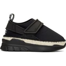 Kenzo Black K-Lastic Espadrille Sneakers