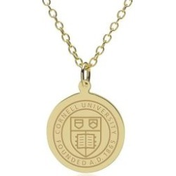 Cornell 14K Gold Pendant and Chain