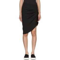 Baja East Black Rib Jersey Contour Skirt found on MODAPINS from ssense asia-pacific for USD $281.84