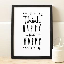 Think happy print