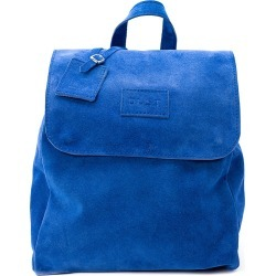 THE DUST COMPANY - Mod 238 Leather Suede Blue Backpack