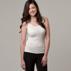 Bamboo tank top in white found on Bargain Bro India from hardtofind.com.au for $24.03