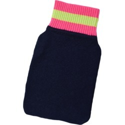 Cove - Navy Cashmere Mini Hot Water Bottle Cover