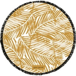 Sandy palms large luxury round beach towel found on Bargain Bro India from hardtofind.com.au for $76.62