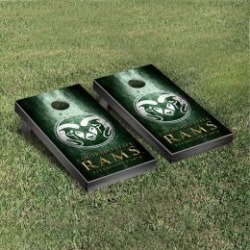 Colorado State Rams Cornhole Game Set Metallic-Look
