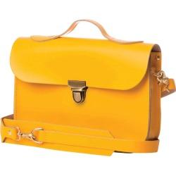 N'Damus London - Medium Trilogy Yellow Rucksack & Satchel found on Bargain Bro UK from Wolf and Badger