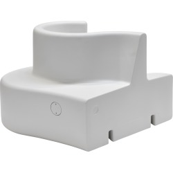 Cloverleaf In & Outdoor Sofa - Right Unit 27 Opal White
