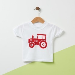 Tractor Personalised Kids T Shirt found on Bargain Bro from hardtofind.com.au for USD $22.78