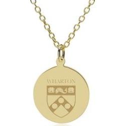 Wharton 14K Gold Pendant and Chain