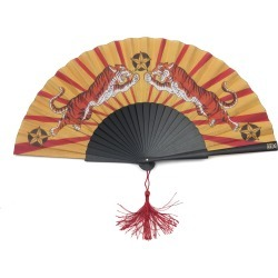 Khu Khu - Tiger Tiger Hand Fan found on Bargain Bro from Wolf & Badger US for USD $63.08