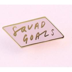Squad Goals Enamel Pin