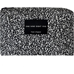 ONE NINE EIGHT FIVE - Pixel Mono Zip Pouch Small found on Bargain Bro UK from Wolf and Badger