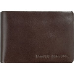Jonah leather wallet in choc found on Bargain Bro from hardtofind.com.au for USD $39.76