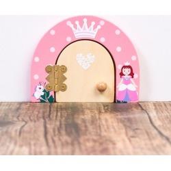 Personalised princess magical fairy door