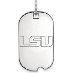 Sterling Silver Louisiana State Dog Tag