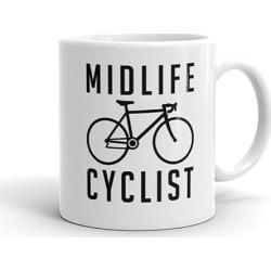 Midlife Cyclist Coffee Mug