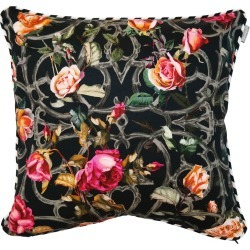 Emily Humphrey - Rose Trellis Print Cushion Small found on Bargain Bro UK from Wolf and Badger