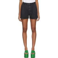 Ambush Black Denim Shorts found on MODAPINS from ssense asia-pacific for USD $613.73