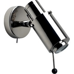 Biny Spot LED Wall Light Polished Nickel Body, Polished Nickel Lens, With, With found on Bargain Bro UK from Clippings