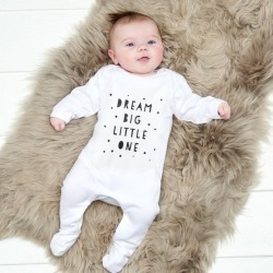 Dream big little one baby bodysuit found on Bargain Bro India from hardtofind.com.au for $27.88