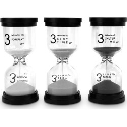 Naughty 3 Minute Timer Set found on GamingScroll.com from hardtofind.com.au for $20.55