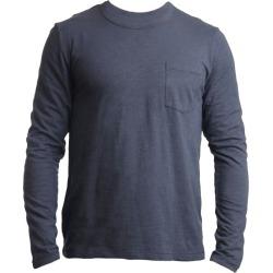 Tonn - Organic Cotton Long Sleeve Pocket Tee Navy