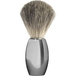 Nickel plated Muhle shaving brush M863 found on MODAPINS from hardtofind.com.au for USD $68.67