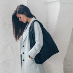 Shopper Bag in black