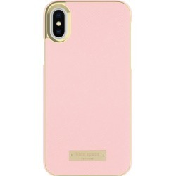 kate spade new york Wrap case for iPhone Xs in Saffiano Rose Quartz found on Bargain Bro India from hardtofind.com.au for $61.87