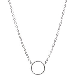Lucy Ashton Jewellery - Circle Necklace Sterling Silver found on Bargain Bro Philippines from Wolf & Badger US for $61.00