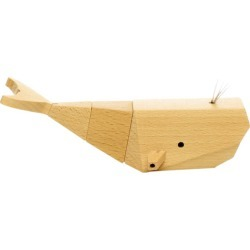 Willy the whale wooden toy