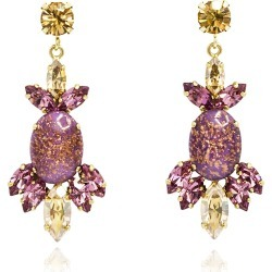 Rosaspina Firenze - Rosaspina Firenze Purple Opera Chandelier Earrings found on Bargain Bro Philippines from Wolf & Badger US for $205.00