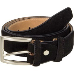 40 Colori - Black Trento Leather Belt found on Bargain Bro UK from Wolf and Badger