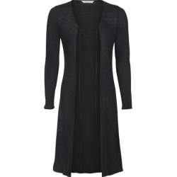 Longline cardigan in black found on Bargain Bro India from hardtofind.com.au for $82.47
