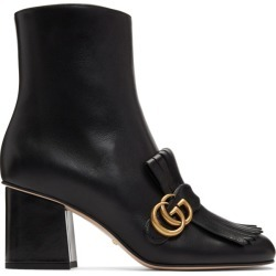Gucci Black GG Ankle Boots found on MODAPINS from ssense asia-pacific for USD $1044.88