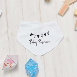Personalised Baby Shower Bib found on Bargain Bro from hardtofind.com.au for USD $17.58