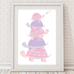 Turtle Stack Print (Boys or Girls)