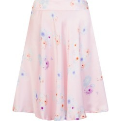 Sophie Cameron Davies - Silk Midi Skirt Pink Beach Flower found on Bargain Bro from Wolf & Badger US for USD $136.80