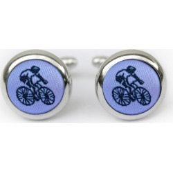 Pastel Purple Cyclist Cufflinks found on Bargain Bro India from hardtofind.com.au for $39.18