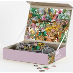 Thousand Piece Jigsaw Puzzle - Flora + found on Bargain Bro India from hardtofind.com.au for $39.89